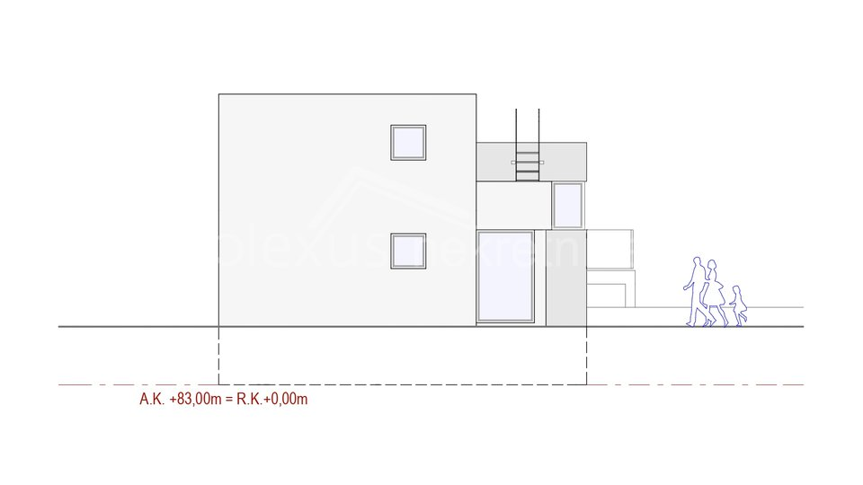 House, 220 m2, For Sale, Podstrana