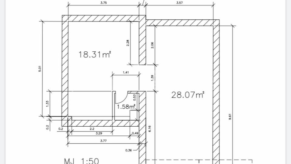 Commercial Property, 42 m2, For Sale, Split - Manuš