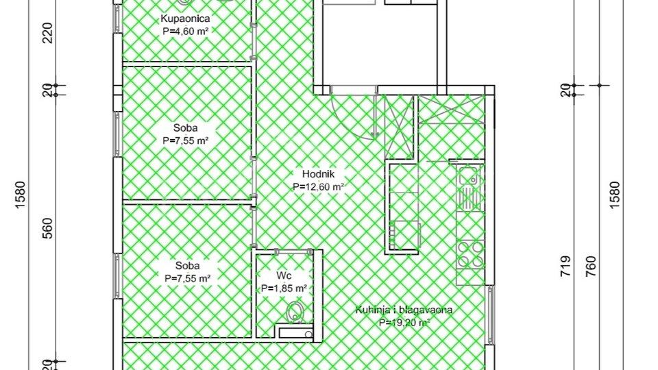 Appartamento, 94 m2, Vendita, Kaštel Sućurac