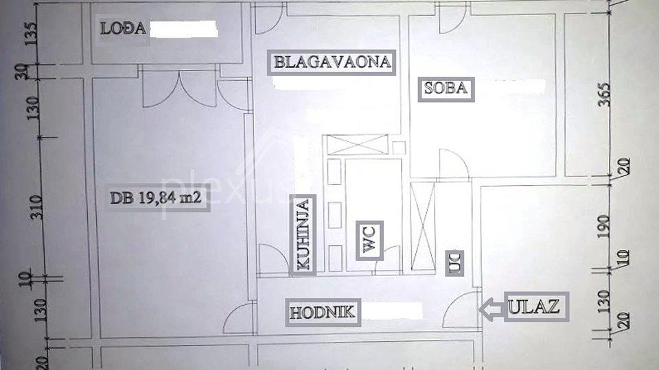 Apartment, 61 m2, For Sale, Split - Gripe