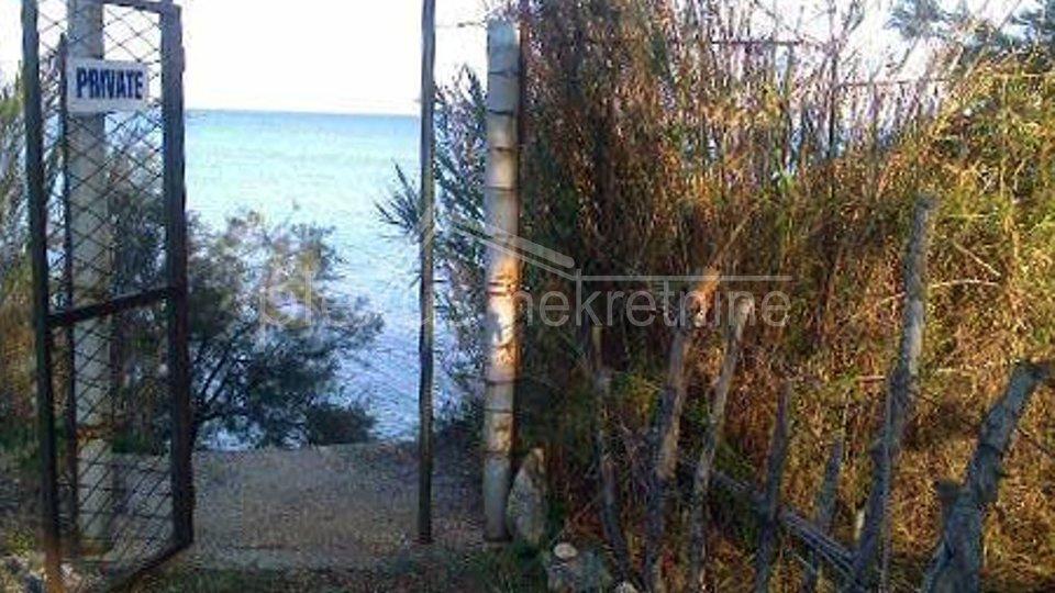 Terreno edificabile prima fila al mare: Kastel Stafilic, 1217 m2