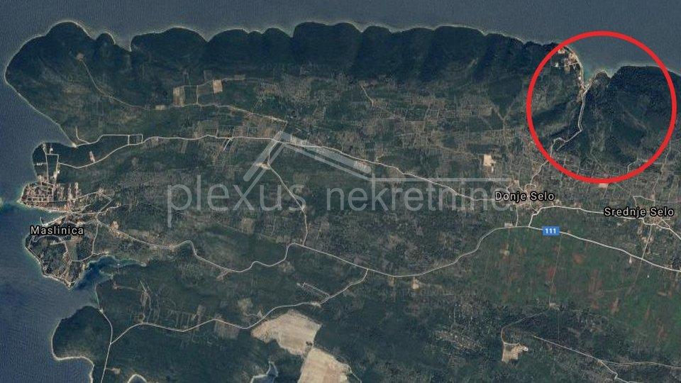 Građevinsko zemljište: Šolta, uvala Krušica, Donje Selo, 6542 m2