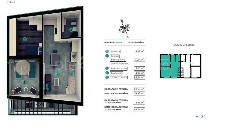Stanovanje, 95 m2, Prodaja, Kaštel Kambelovac