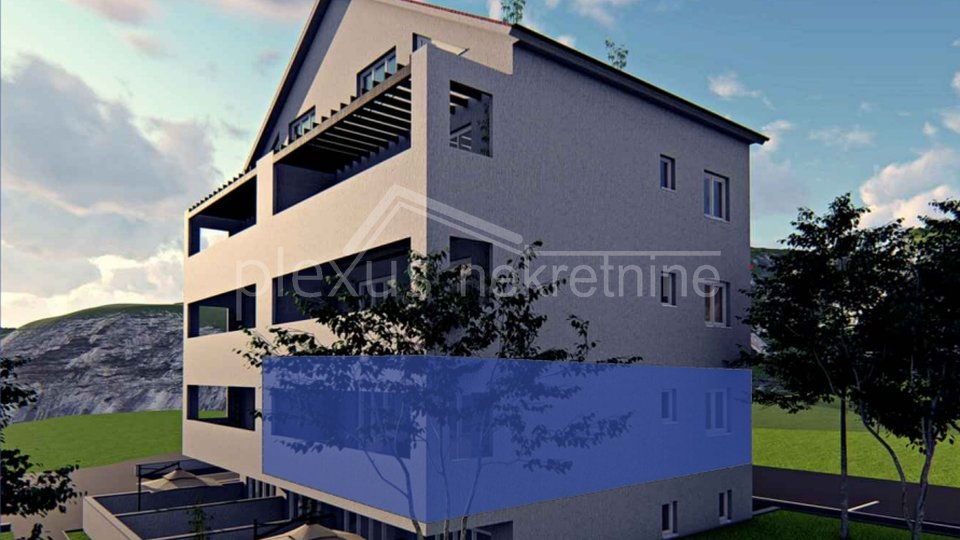 Apartment, 57 m2, For Sale, Kaštel Kambelovac