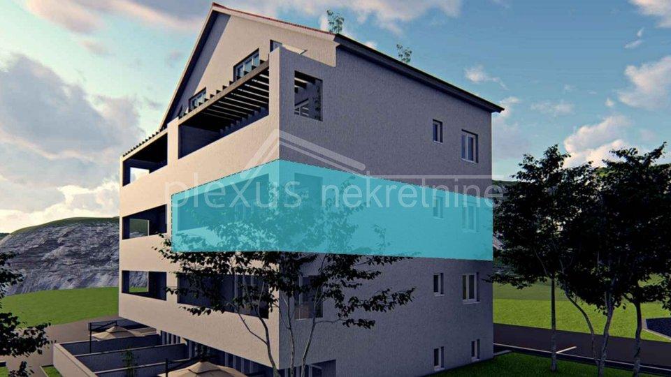 NOVOGRADNJA! Dvosoban stan: Split - okolica, Kaštel Kambelovac, 57 m2