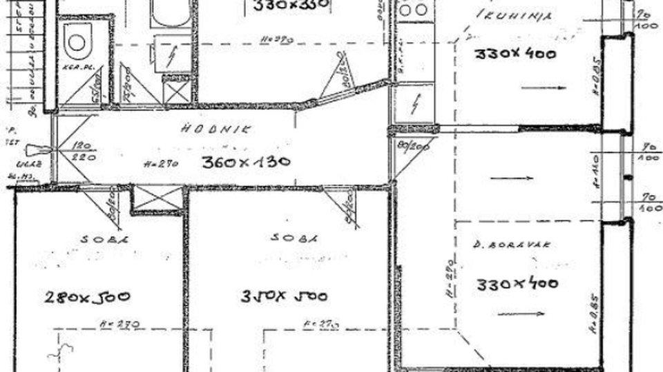 Wohnung, 76 m2, Verkauf, Split - Dobri