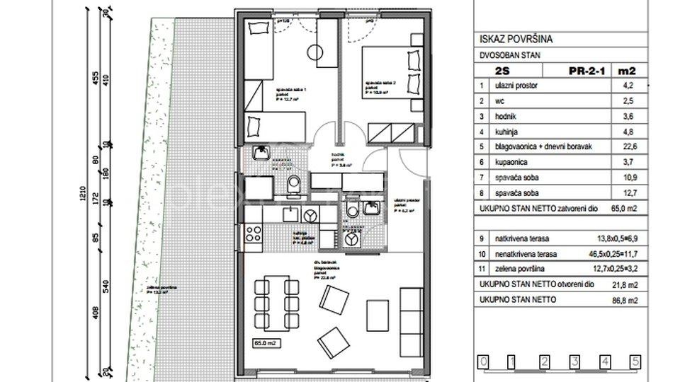Appartamento, 83 m2, Vendita, Split - Kman
