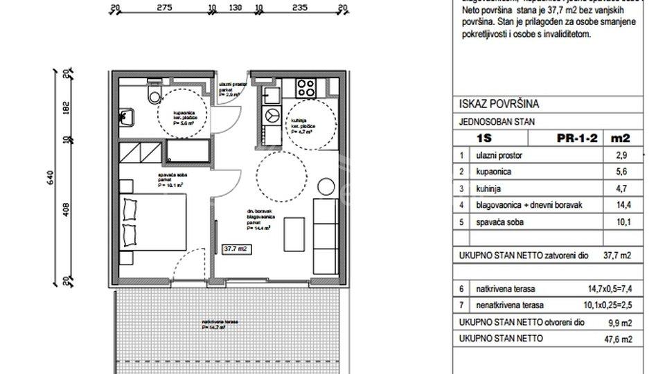Appartamento, 47 m2, Vendita, Split - Kman