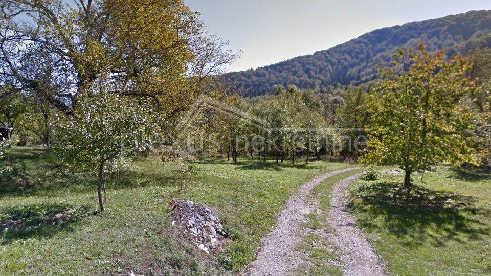 Građevinsko zemljište s projektom: Gorski Kotar, Stari Laz, 38588 m2