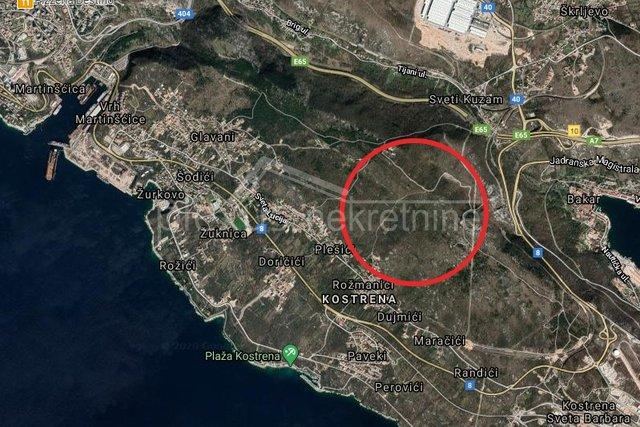 Poljoprivredno zemljište: Kostrena, Stipići, 3782 m2