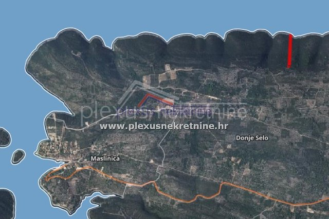 Land, 10300 m2, For Sale, Šolta - Donje Selo