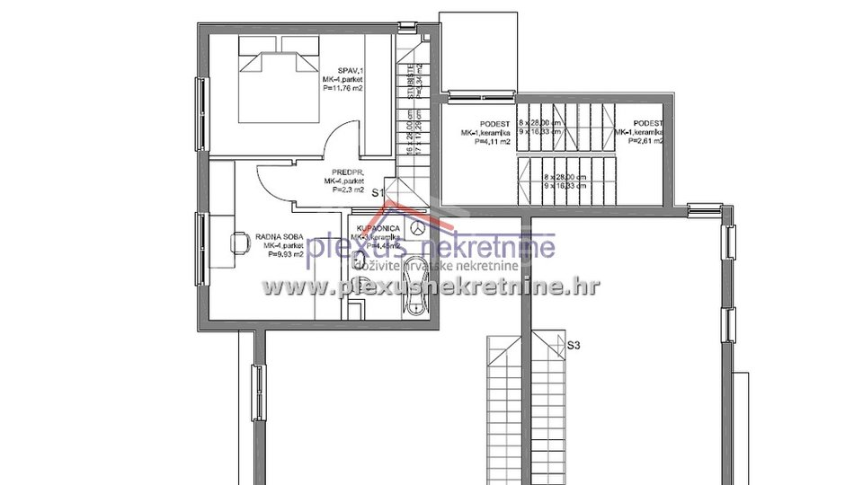 Apartment, 85 m2, For Sale, Kaštel Lukšić