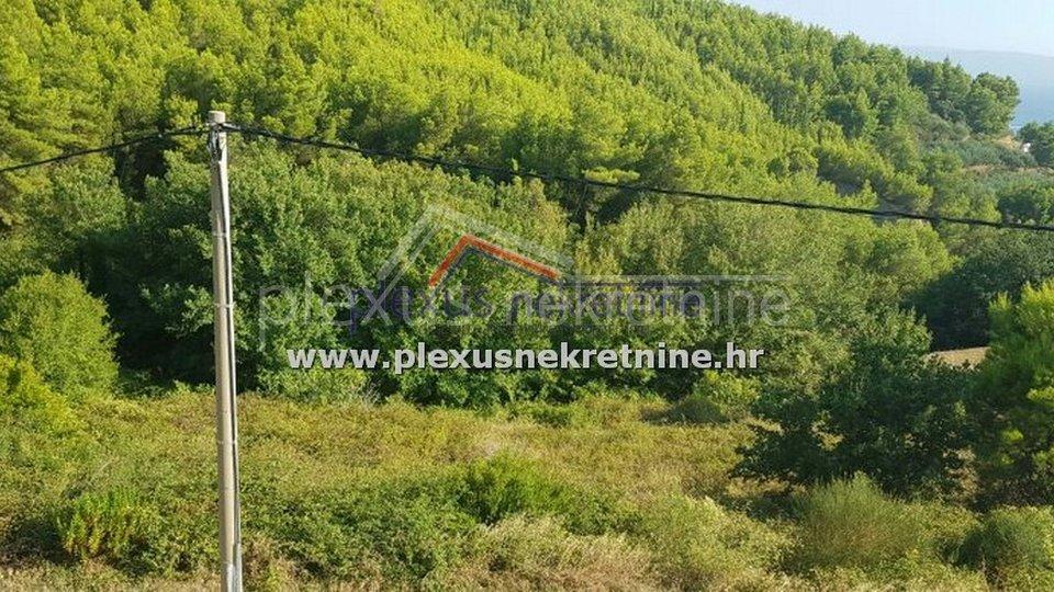 Građevinsko zemljište: Split - okolica, Donja Podstrana, 1800 m2