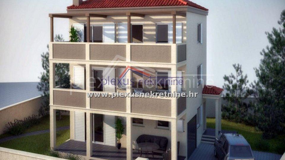 Građevinsko zemljište s dozvolom: Split - okolica, Kamen, 500 m2