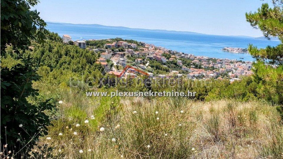 Građevinsko zemljište s pogledom na more: Split - okolica, Podstrana
