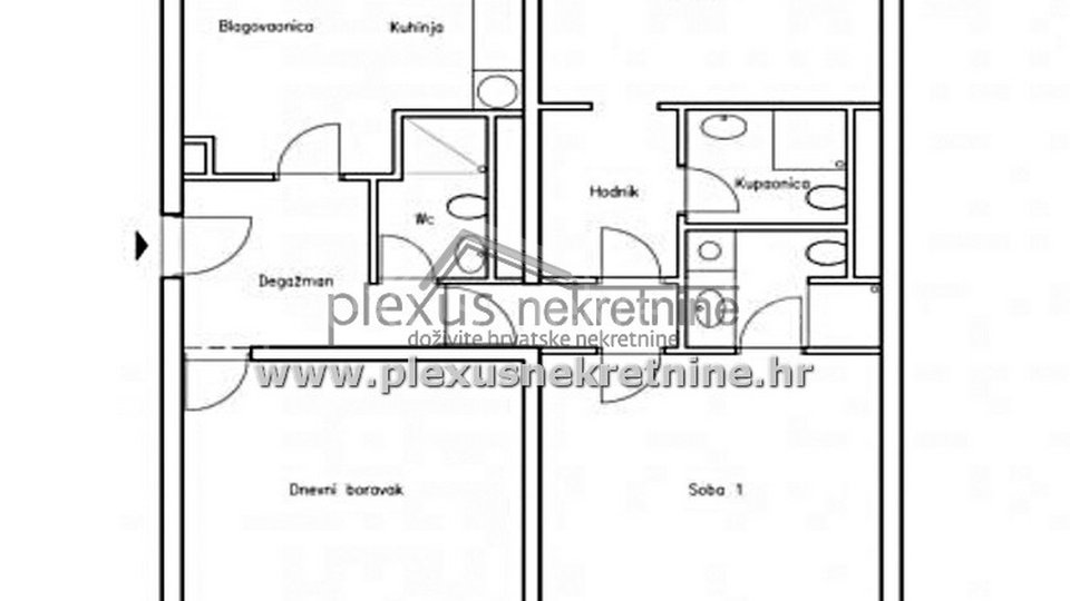 Apartment, 110 m2, For Sale, Split - Trstenik