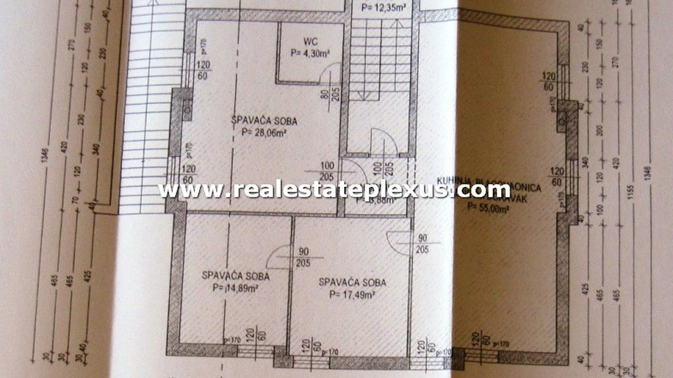 House, 1230 m2, For Sale, Split - Meje