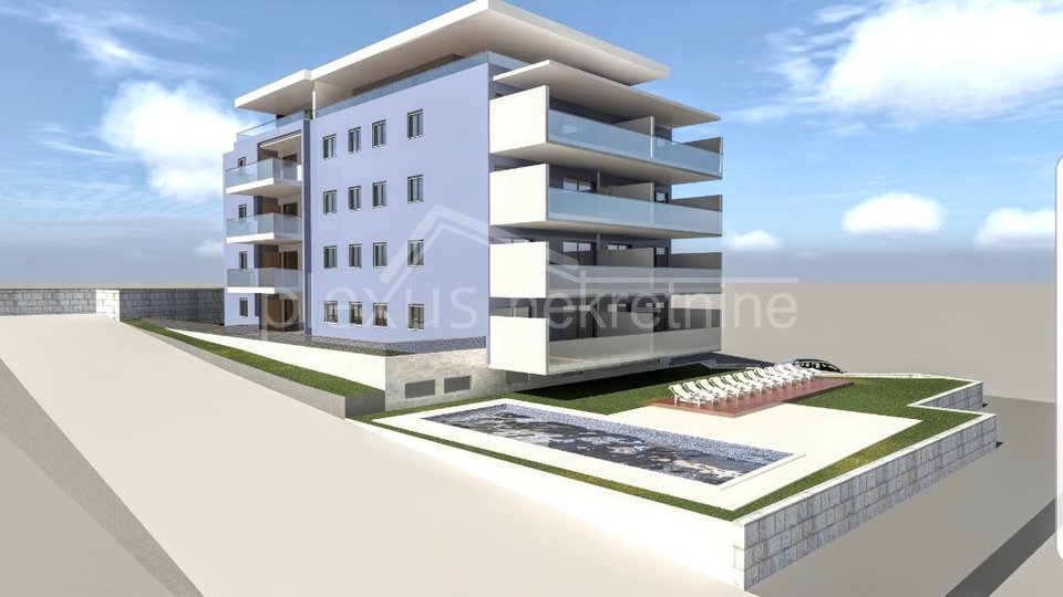 Apartment, 78 m2, For Sale, Seget Donji