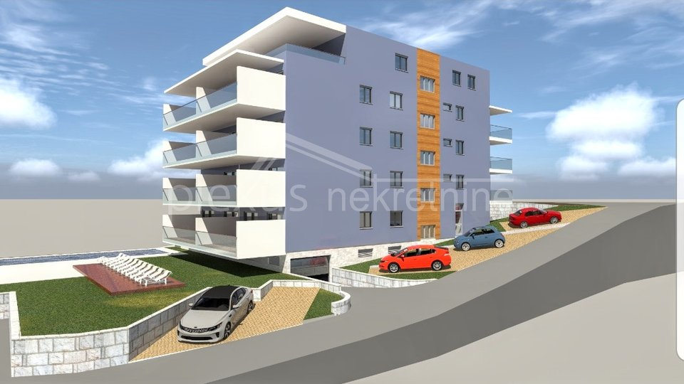 Apartment, 52 m2, For Sale, Seget Donji