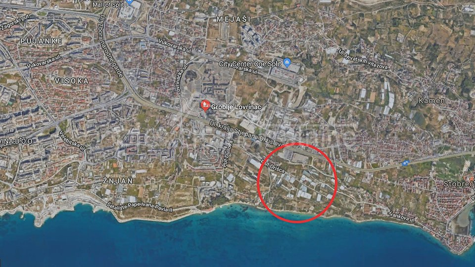 Land, 3850 m2, For Sale, Split - Duilovo