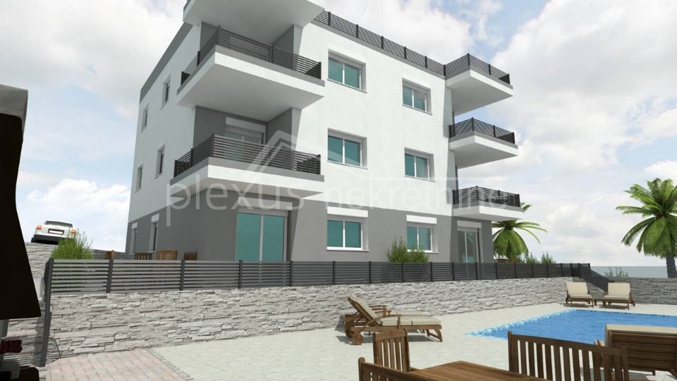 Apartment, 85 m2, For Sale, Okrug - Okrug Gornji