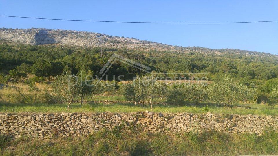 Građevinsko zemljište: Omiš-okolica, Tugare, 3900 m2