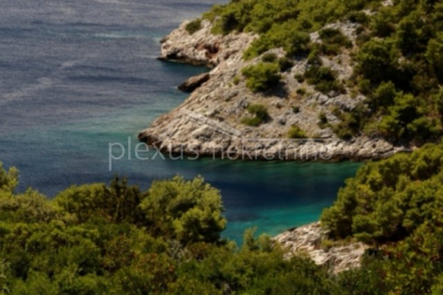 poljoprivredno zemljište otok šolta gornje selo pogled na more