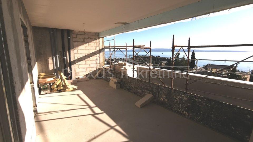 terasa pogled na more split marjan
