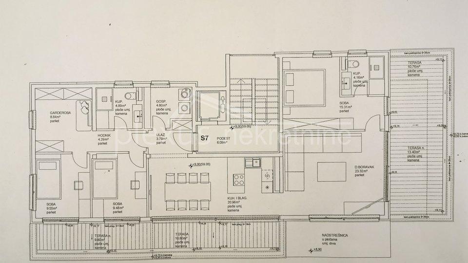 NOVOGRADNJA! Stan - luksuzni penthouse: Split, Marjan, 154 m2